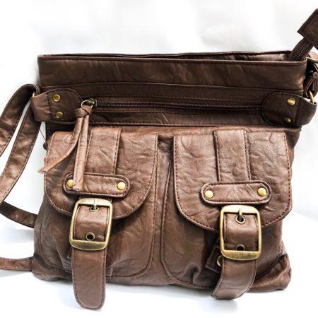 Brown Messener Bag - Sotectonic