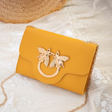 yellow mini bag